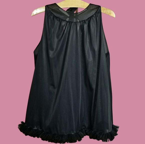 60/'s babydoll nightgown sz S